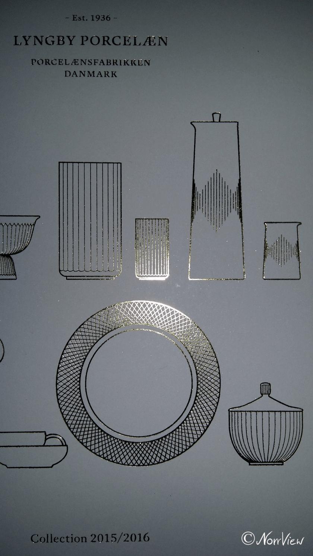 Katalog Cover von lyngby Porzellan aus Dänemark