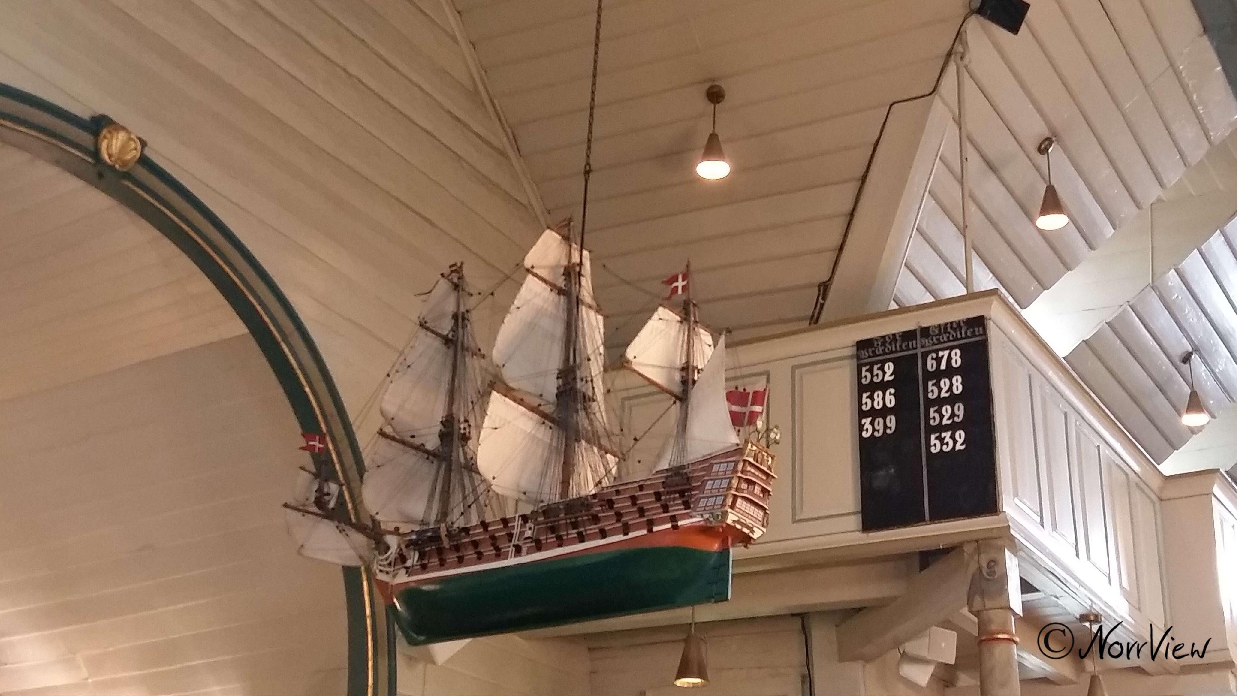 Kirchenschiff Egersund Norwegen
