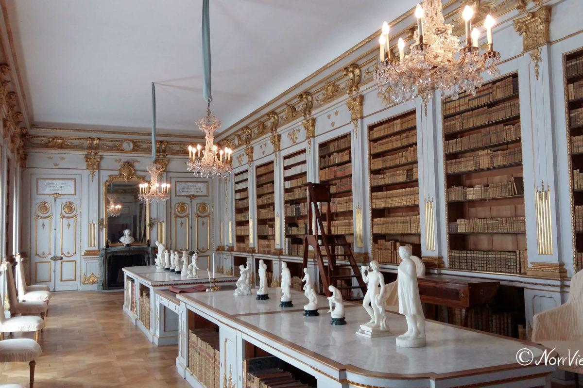 Bibliothek Schloss Drottningholm Schweden
